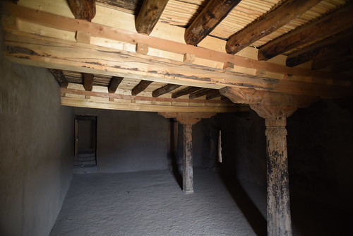 Wooden Structure of Leh Palace