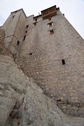 Towering Walls of Leh Palace