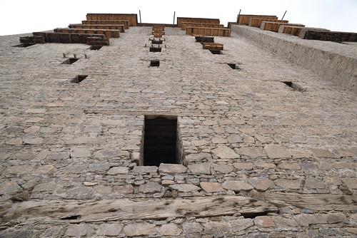 Sheer Walls of Leh Palace
