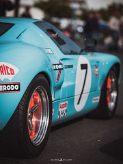 XE325945 (Brice L) Tags: ford gt40 gulf blue america