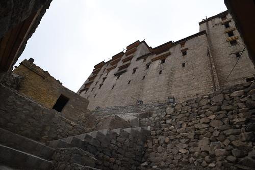 Leh Palace Stairs
