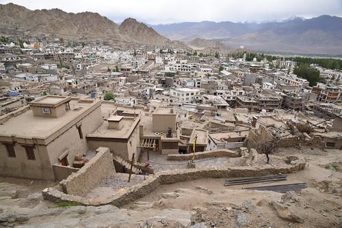 Homes Below Leh Palace