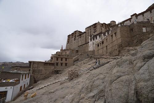 Leh Palace From Below