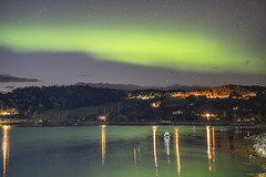 Aurora Borealis over Vefsnfjorden no.2 (ChristianMandel) Tags: auroraborealis northernlight nordlicht polarlicht norway norwegen capturedonmylastnightclosetothepolarcircle vefsnfjorden kviting ilce7iii sonya7iii sonnartfe55mmf18za