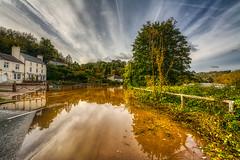 Mine! said the Wye (shadowed eyes) Tags: wye wyevalley riverwye flood gloucestershire