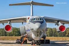 76683 Ilyushin IL-76MD Ukrainian Air Force (Planes , ships and trains!) Tags: 76683 ilyushin il76md ukrainianairforce