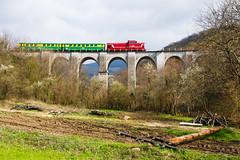 Aninai hegyivasút (thomasthomasth) Tags: vasut railways anina romania rail railroad dacia passanger trestle bridge