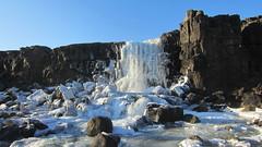 Þingvellir - Öxarárfoss (Ásmundur H) Tags: þingvellir öxará öxarárfoss alemannagjá iceland