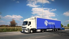 4 (lanker44) Tags: ets2 ets truck trucks renault premium lowdeck krone geodis transport