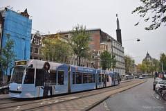 Siemens Combino - 2088 - 2 - 15.10.2019 (VictorSZi) Tags: netherlands olanda siemens siemenscombino transport tram tramvai gvb publictransport autumn toamna nikon nikond5300 october octombrie