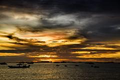 Pattaya Sunset. Thailand (Hank888) Tags: pattaya thailand sunset sea hank888 5dmkiii happyplanet asiafavorites