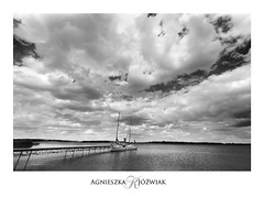 Chmurowisko (smoothna) Tags: clouds cloudporn yachts lake summer poland smoothna d90 sigma1020mm