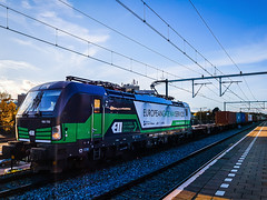 RTB Cargo 193 732 met containertrein @ Eindhoven (Avinash Chotkan) Tags:
