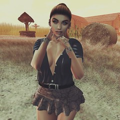 Look 212 Autumn killed the summer with the softest kiss (Hypnotic Fashion Blog) Tags: candykitten meva supernatural stealthic avatar accessoires blog blogger fashion autumn halloween fall lookoftheday lotd look style outfit secondlife sl sweet