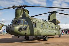 Boeing CH-47D Chinook - 02 (NickJ 1972) Tags: royalinternationalairtattoo riat raf fairford airshow 2019 aviation boeing ch47 chinook d661 redoctober