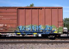 Kuba (quiet-silence) Tags: graffiti graff freight fr8 train railroad railcar art kuba cuba gfr boxcar snc snc20199
