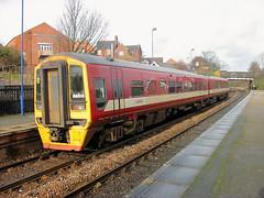 158906 (R~P~M) Tags: train railway dmu multipleunit 158 arriva arrivatrainsnorthern elsecar southyorkshire england uk unitedkingdom greatbritain