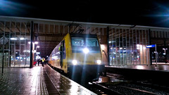 NSR 186 033 als IC trein @ Eindhoven Centraal (Avinash Chotkan) Tags: ns bombardier traxx br186 186033 eindhoven night