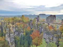 Bastei Bridge (whittakermj4) Tags: sandstone sandstein saxony sachsen dresden elbsandsteingebirge herbst autumn germany