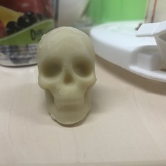 The Death Cake (Like_the_Grand_Canyon) Tags: backen baking horror skulls blood scary gruselig schädel