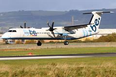 G-ECOE_13 (GH@BHD) Tags: gecoe dehavilland bombardier dhc dhc8 dhc8402q dasheight aircraft aviation airliner bhd egac belfastcityairport turboprop propliner
