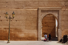 Brown door (Alice Protto) Tags: morocco marocco art canon reflex canoneos canoneos550d maroc africa travel travelaround moroccoplaces brown old culture picoftheday photooftheday photographer travelphotography city marrakech