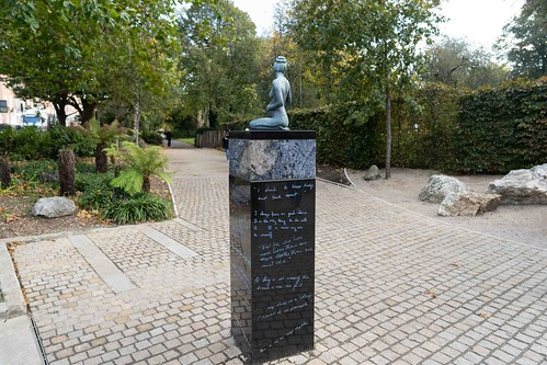 THE WORK OF DANNY OSBORNE [THERE ARE THREE ELEMENTS TO THE OSCAR WILDE SCULPTURE IN MERRION SQUARE]-157800