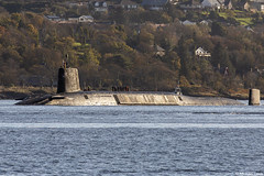 Unidentified RN Vanguard-class nuclear ballistic missile submarine (SSBN); Loch Long, Firth of Clyde, Scotland (Michael Leek Photography) Tags: ship vessel boat submarine nato nuclearsubmarine nuclear nucleardeterrent vanguardclasssubmarine ssbn lochlong coulport clyde hmnbclyde hmnb hmsneptune firthofclyde scotland westcoastofscotland westernscotland argyllandbute argyll cowal cowalpeninsula faslane gareloch ballisticmissilesubmarine royalnavy rn britainsarmedforces britainsnavy scottishlandscapes scottishcoastline scotlandslandscapes scottishshipping natowarships michaelleek michaelleekphotography