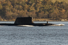 Unidentified RN Astute-class attack submarine (SSN); Loch Long, Firth of Clyde, Scotland (Michael Leek Photography) Tags: ship vessel boat sub submarine fleetsubmarine attacksubmarine nuclearsubmarine nuclear nucleardeterrent ssn lochlong firthofclyde clyde faslane coulport hmnbclyde hmnb hmsneptune gareloch cowal cowalpeninsula argyllandbute argyll rn royalnavy britainsarmedforces britainsnavy scotland scottishcoastline scotlandslandscapes scottishshipping westcoastofscotland westernscotland michaelleek michaelleekphotography