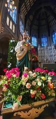 San Judas Tadeo (Lawrence OP) Tags: dominican stdominic's sanfrancisco statue devotion flowers apostle thaddeus stjude