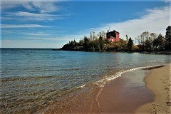 Lighthouse (jessicacandacephotos) Tags: lighthouse marquette michigan puremichigan lakesuperior lake greatlakes beach beaches historic historical