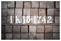 Identification (leo.roos) Tags: paulcaptijnlaan poeldijk westland bouwmateriaal buildingmaterial urbandevelopment stadsontwikkeling constructionsite wood number brown hout bruin nummer patro repe lijn compo 50 abstra a7r2 a7rii 7artisansdjoptical5011 7artisans5011 darosa leoroos