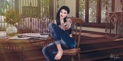 Cottage Life (Spikie Chickie) Tags: secondlife secondlifephotography letre doux maitreya catwa rkkn applefall af soy avenge