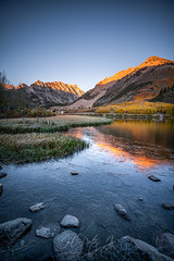 Stuck on this rock (ScorpioOnSUP) Tags: adventure aspens autumncolors bishop california easternsierra fallcolors fallfoliage ice lake landscape landscapephotography longexposure mountains nature northlake outdoors reflections seekingsolitude sierranevada solitude sonya7iii sonyalpha tranquility