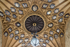 Tom Tower, Oxford (Billy Wilson Photography) Tags: 2019 adventure biketour cycling europe tom tower oxford england uk united kingdom ceiling gothic university christ church historic