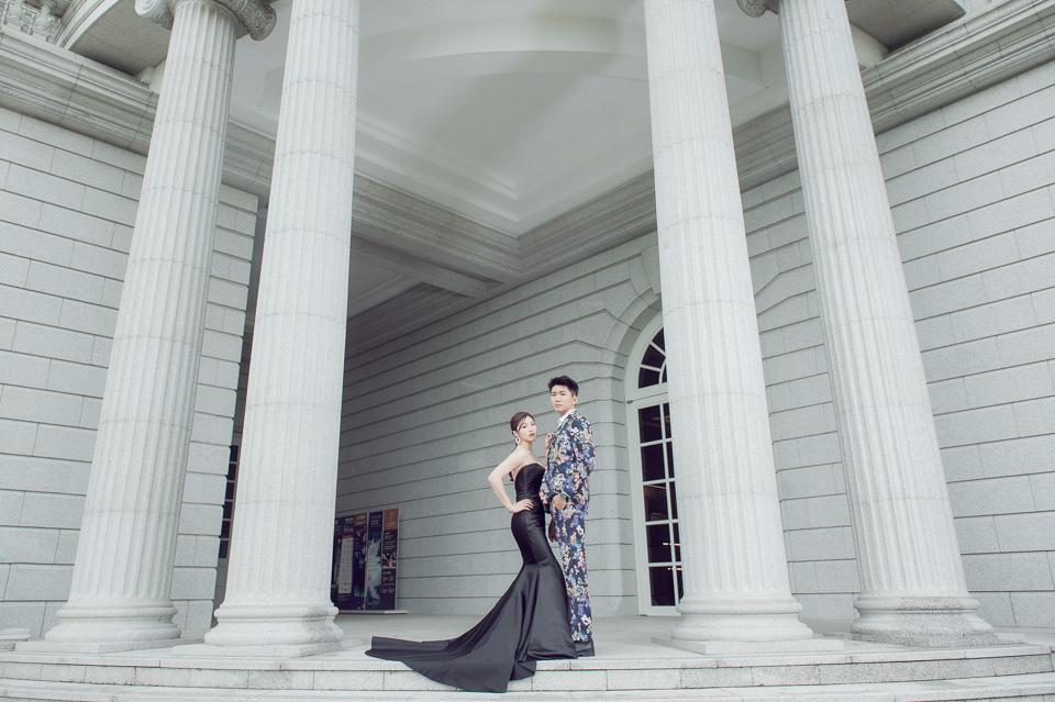 台南自助婚紗 H&J | Weiwan 手工禮服 | 奇美博物館