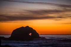 I Can See Her Moving (Thomas Hawk) Tags: america bayarea california sfbayarea sanfrancisco sutrobaths usa unitedstates unitedstatesofamerica westcoast heart sunset fav10 fav25 fav50 fav100