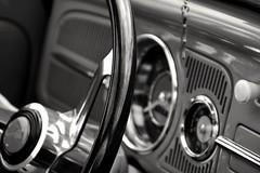 Vee Dubb (jonnorthf64) Tags: vw beetle car classiccar blackandwhite bnw wareham dorset vwbeetle