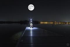 Groot Moon (superdavebrem77) Tags: oilpaintfilter composite longexposure