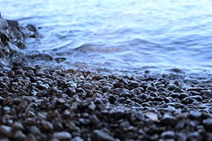 Lake Superior from Presque Isle (jessicacandacephotos) Tags: presqueislepark presqueisle presque lakesuperior greatlakes lake pebbles rocks beach beaches