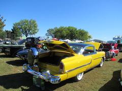 Yellow 1955 Mercury Montclair (smaginnis11565) Tags: mercury mercurymontclair montclair twodoorcar carshow haverstraw newyork rocklandcounty 2019