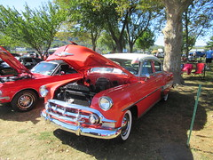 Red 1953 Chevrolet Bel Air (smaginnis11565) Tags: chevrolet belair sedan mark1belair 1953chevrolet carshow haverstraw newyork rocklandcounty 2019