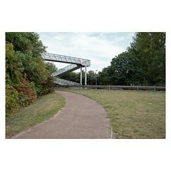 Z (John Pettigrew) Tags: paths lines tamron d750 imanoot banal topographics bridges documentary trees barriers nikon angles johnpettigrew mundane