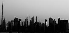 Iconic Dubai (stevechiversphotography) Tags: creekside creeksidejune2019 iconic bnwarchitecture dubai cityscape fujifilm bnw archtecture cityimage xh1 xf90mmf2 iconicdubai bnwcityscape fujilove