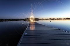 Ashburnham Blue hour Sparks (superdavebrem77) Tags: