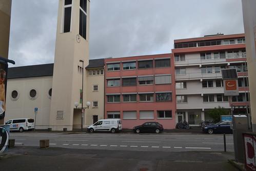 Blick auf Adenauerallee und St. Cyprian (135FJAKA_2930)