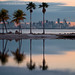 Miami across Biscayne Bay