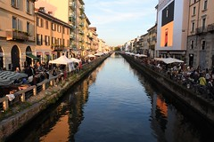 NAVIGLIO  GRANDE - MILANO (gabri58) Tags: milano navigliogrande