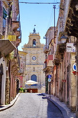 1102 Sicile Juillet 2019 - Palazzolo Acreide, Chiesa Parrocchiale di San Sebastiano (paspog) Tags: palazzoloacreide sicily sicile sicilia juli juillet july 2019 chiesaparrocchialedisansebastiano