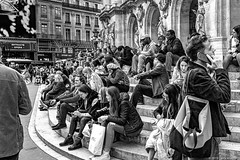 Place de L'Opéra (Larry Shields Photography) Tags: nuitblanche paris2019summerfall worldwidephotowalk